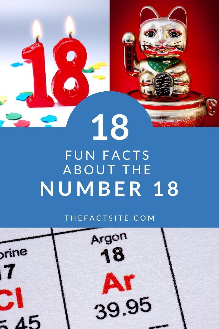 Eighteen Fun Facts About The Number 18