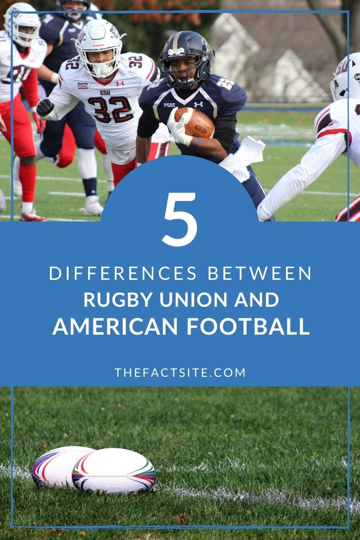 5 Differences Between Rugby Union and American Football