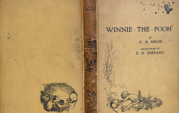 Winnie the Pooh original book cover
