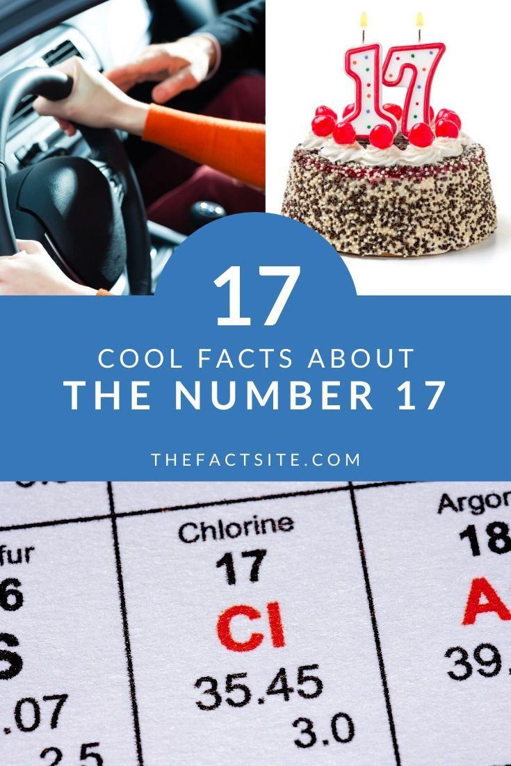 17 Cool Facts About The Number 17