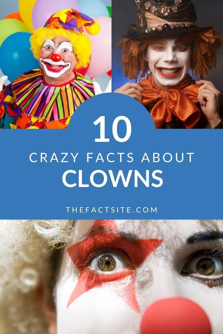 10 Crazy Facts About Clowns