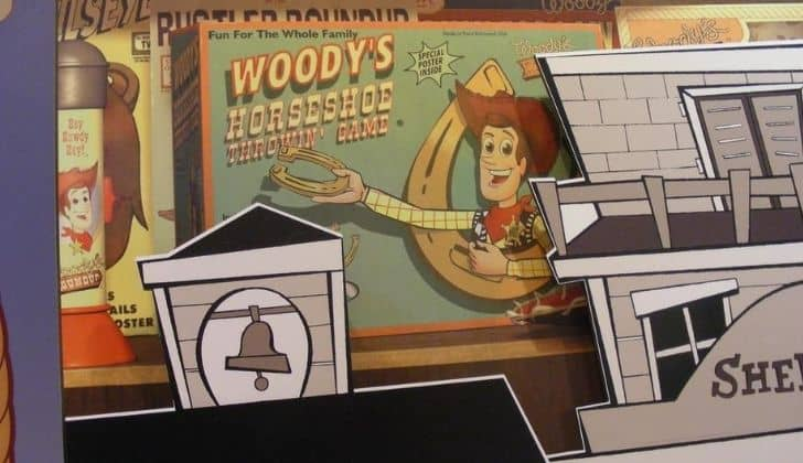 Woody's Roundup board game
