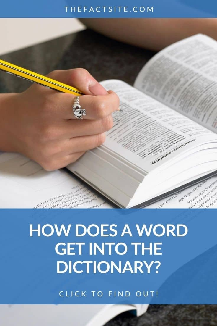 How Does A Word Get Into The Dictionary?