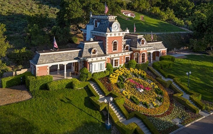 "Michael Jackson's home ""Neverland"""