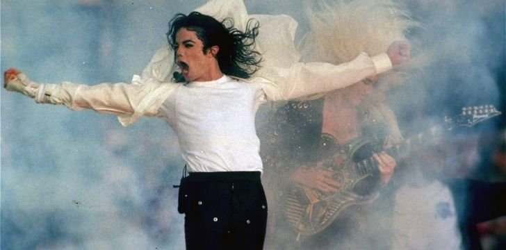Michael Jackson looking epic