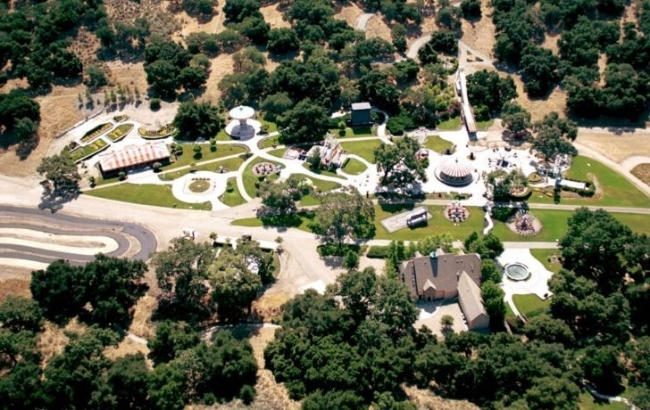 Michael Jackson's Neverland grounds