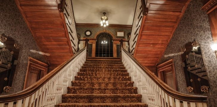 Horrifying stairs at the Stanley Hotel