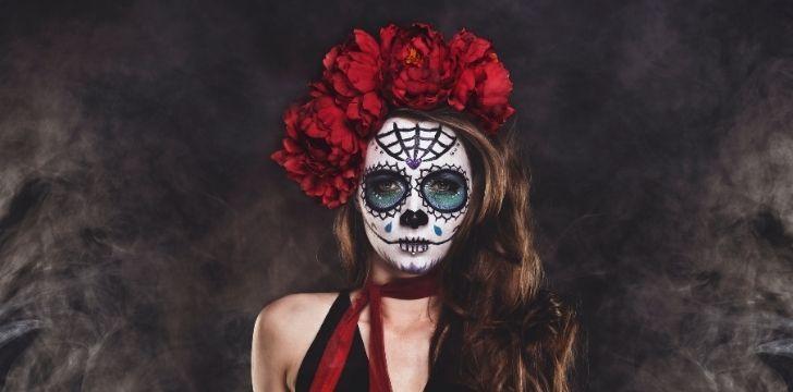 Sugar skulls face makeup
