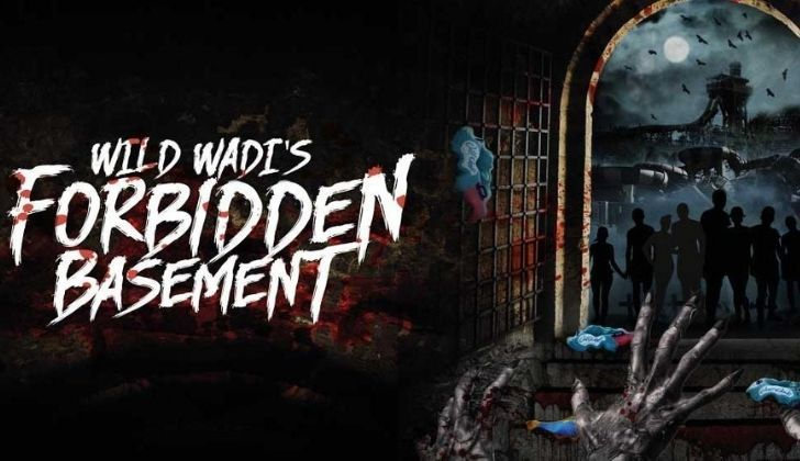 Advert for the Forbidden Basement at Wild Wadi