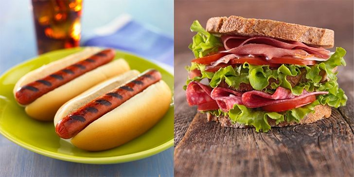 Hot Dog vs Sandwich