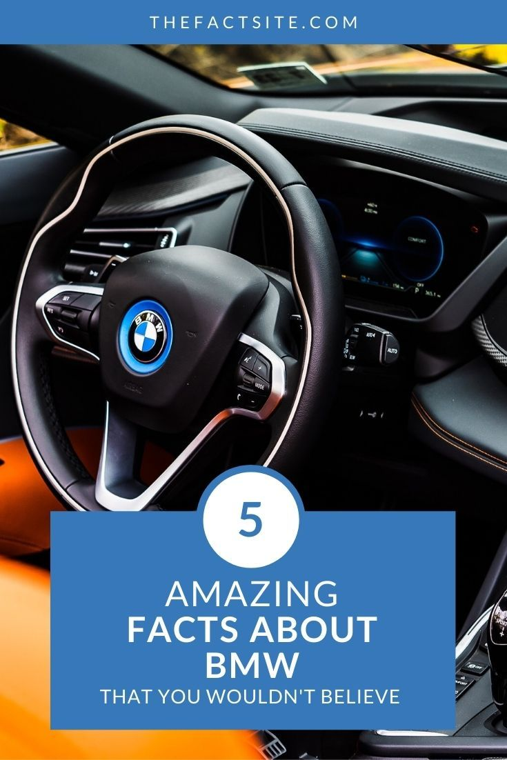 5 Amazing Facts About BMW That You Wouldn't Believe