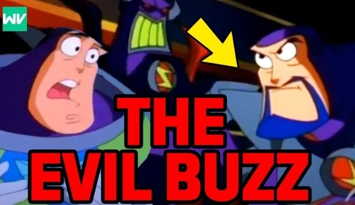 Buzz Lightyear and his evil version
