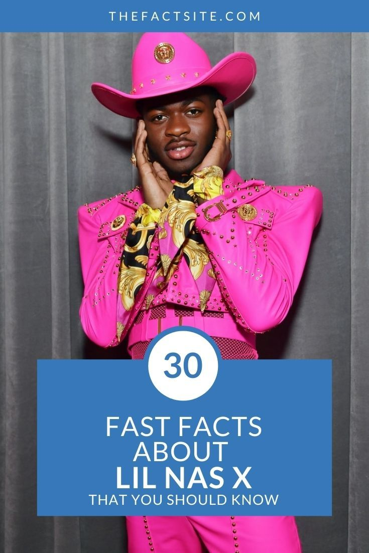 30 Fast Facts About Lil Nas X