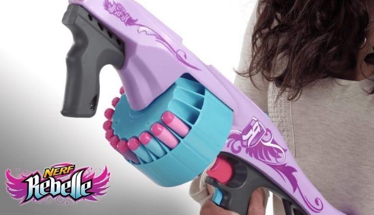 """The """"Rebelle"""" NERF gun aimed at girls"""