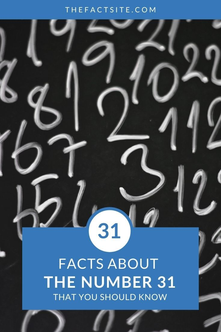 31 Facts About The Number 31