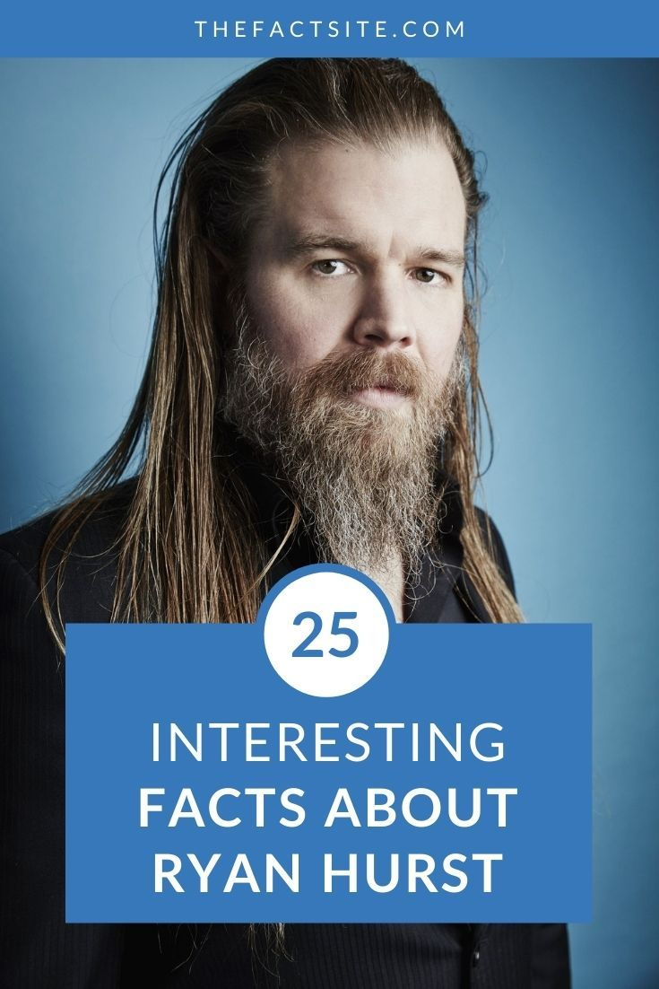 25 Interesting Facts About Ryan Hurst