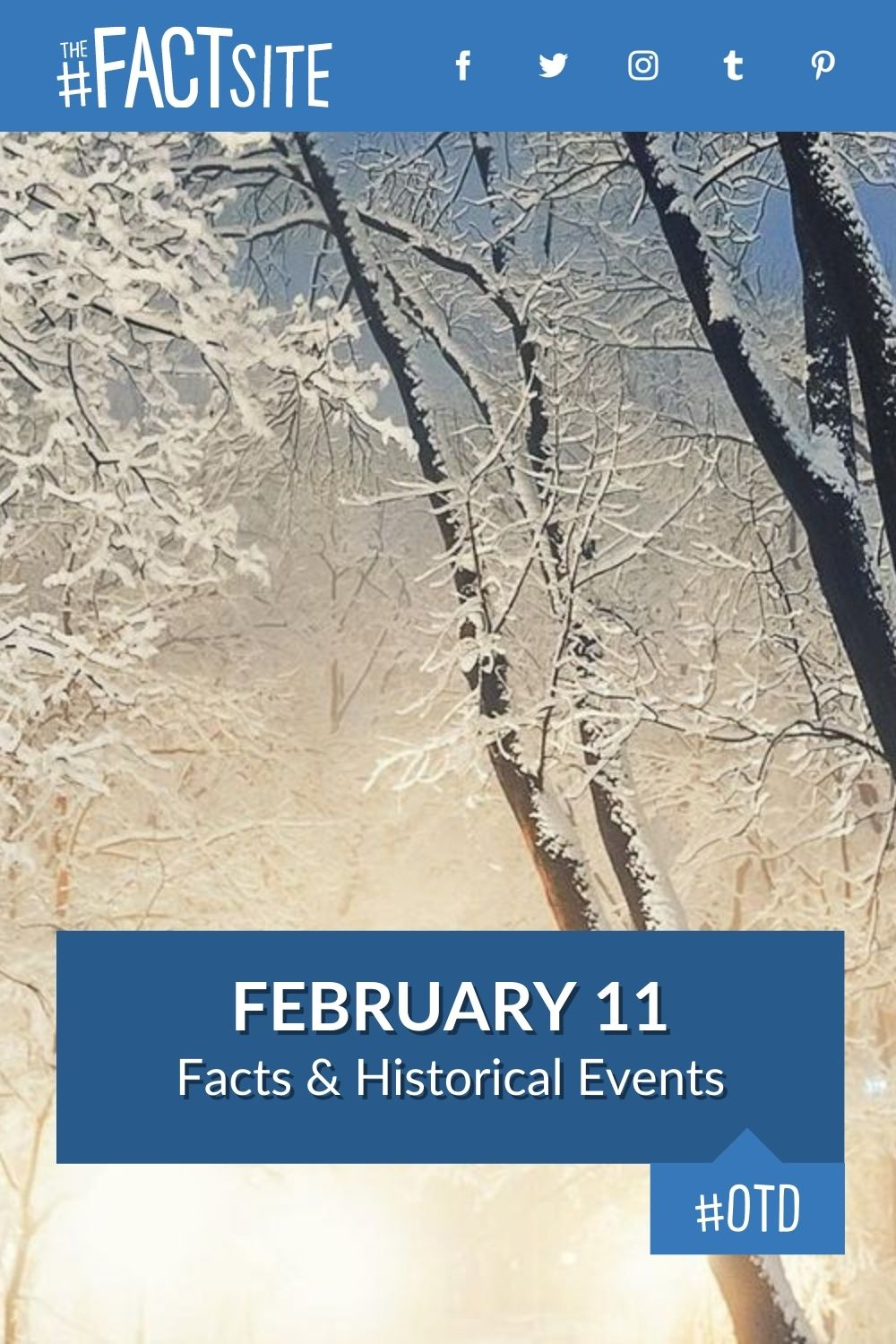 Facts & Historic Events That Happened on February 11