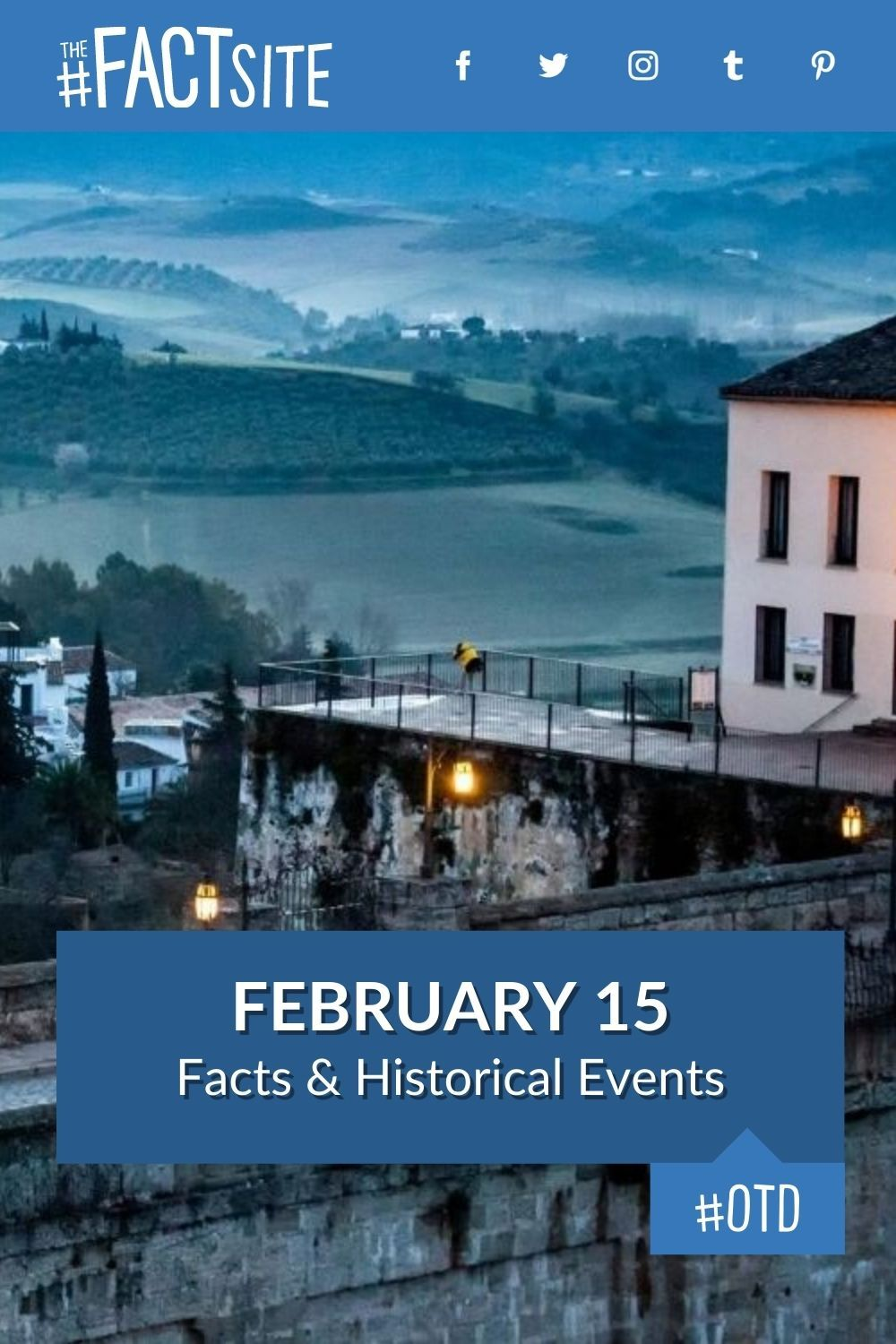 Facts & Historic Events That Happened on February 15