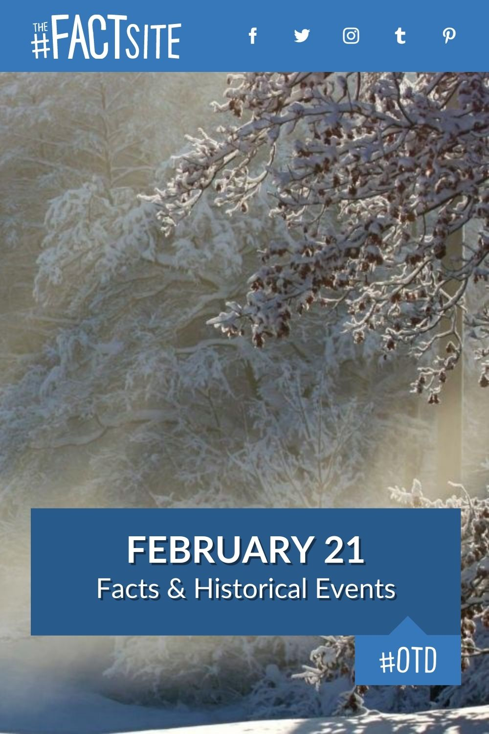 Facts & Historic Events That Happened on February 21