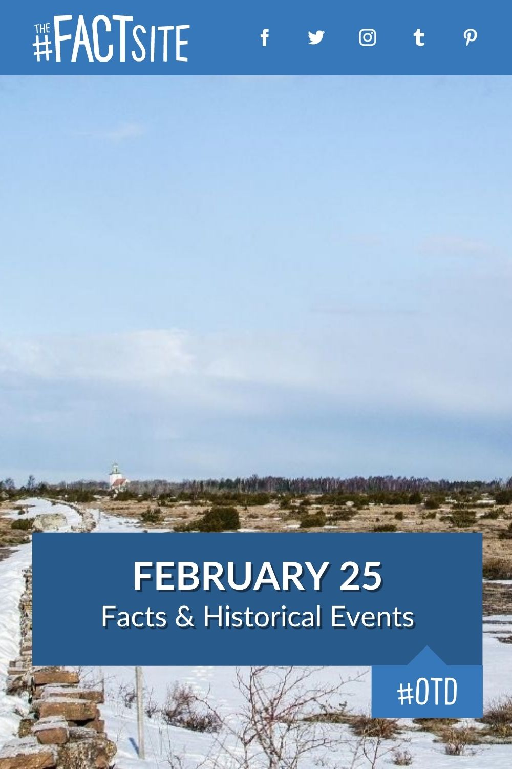 Facts & Historic Events That Happened on February 25