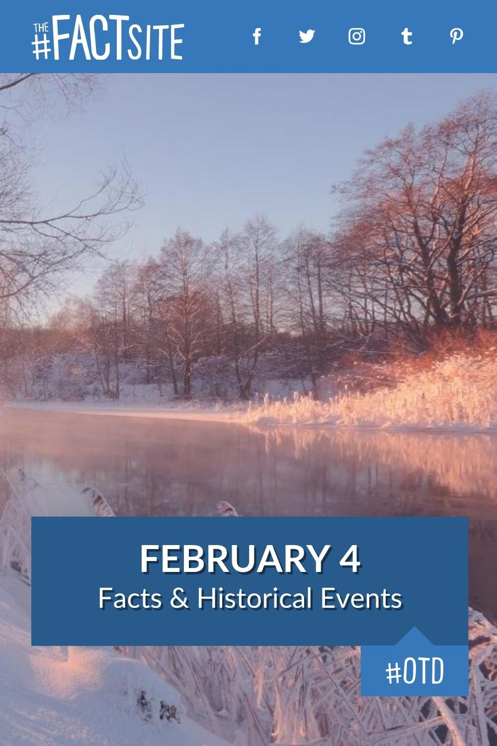 Facts & Historic Events That Happened on February 4