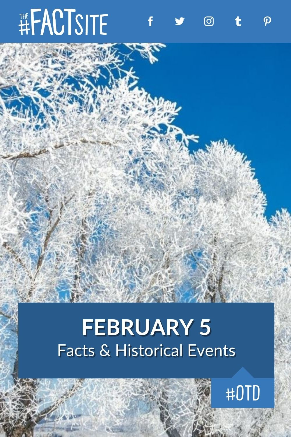 Facts & Historic Events That Happened on February 5