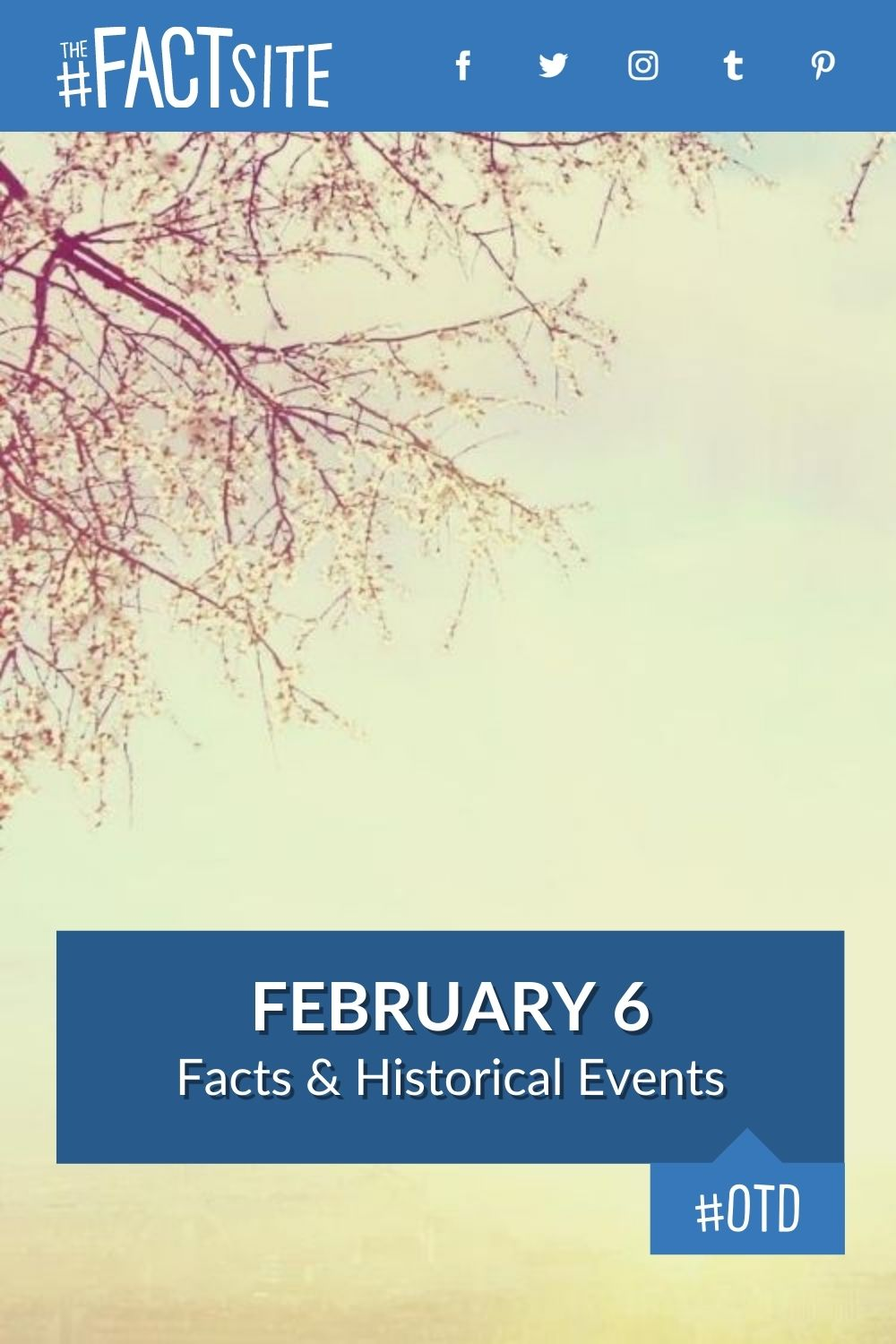 Facts & Historic Events That Happened on February 6