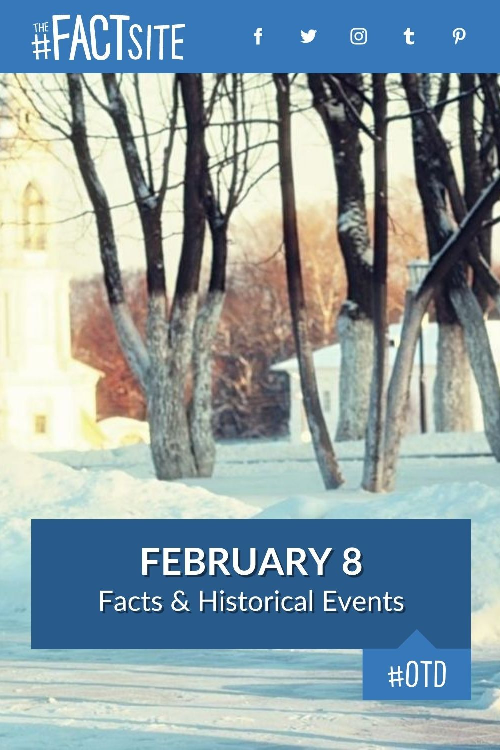 Facts & Historic Events That Happened on February 8