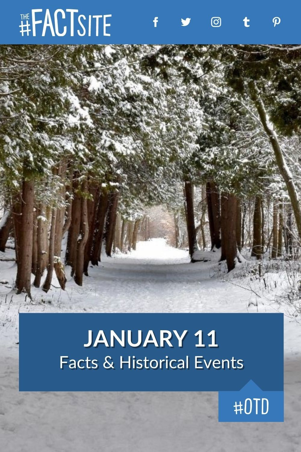 Facts & Historic Events That Happened on January 11