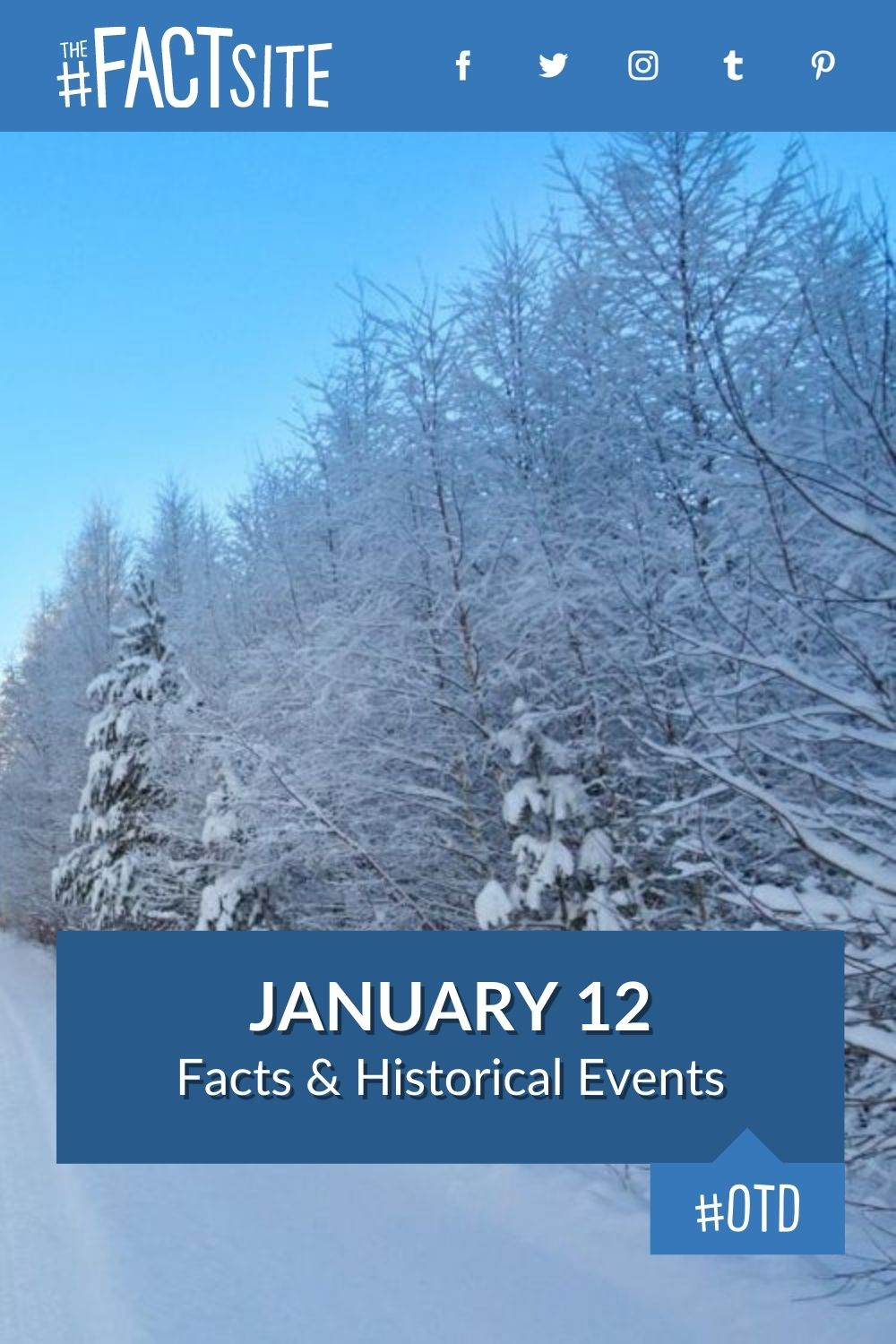 Facts & Historic Events That Happened on January 12