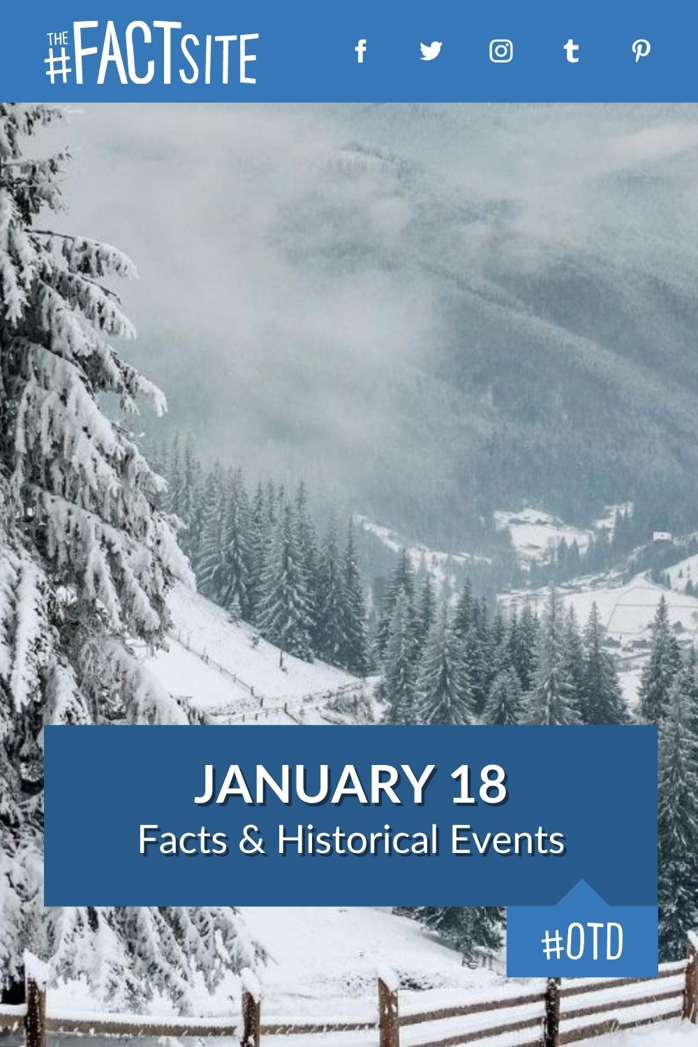Facts & Historic Events That Happened on January 18