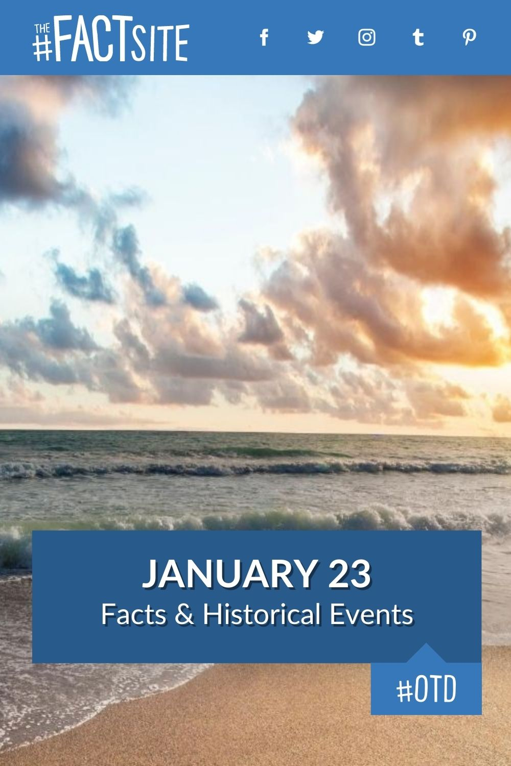Facts & Historic Events That Happened on January 23