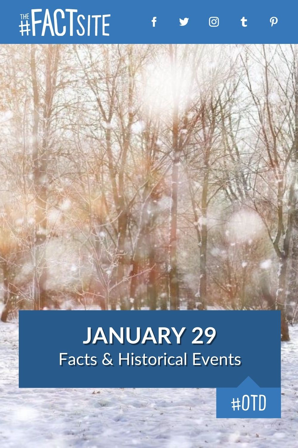 Facts & Historic Events That Happened on January 29