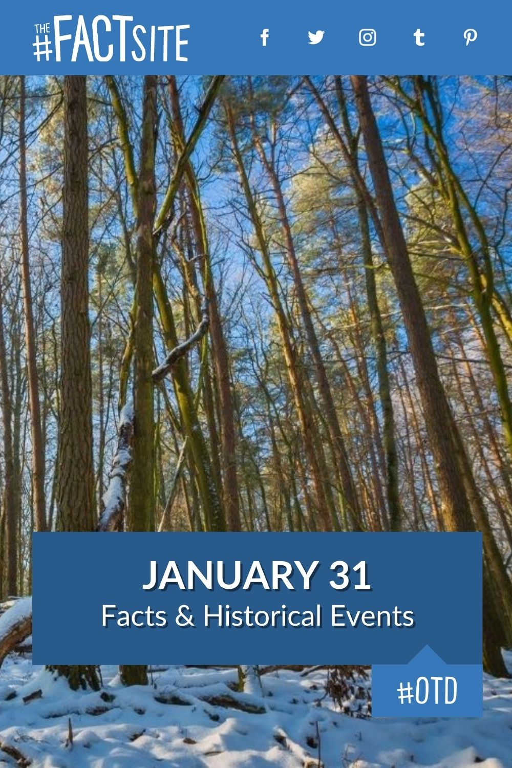 Facts & Historic Events That Happened on January 31