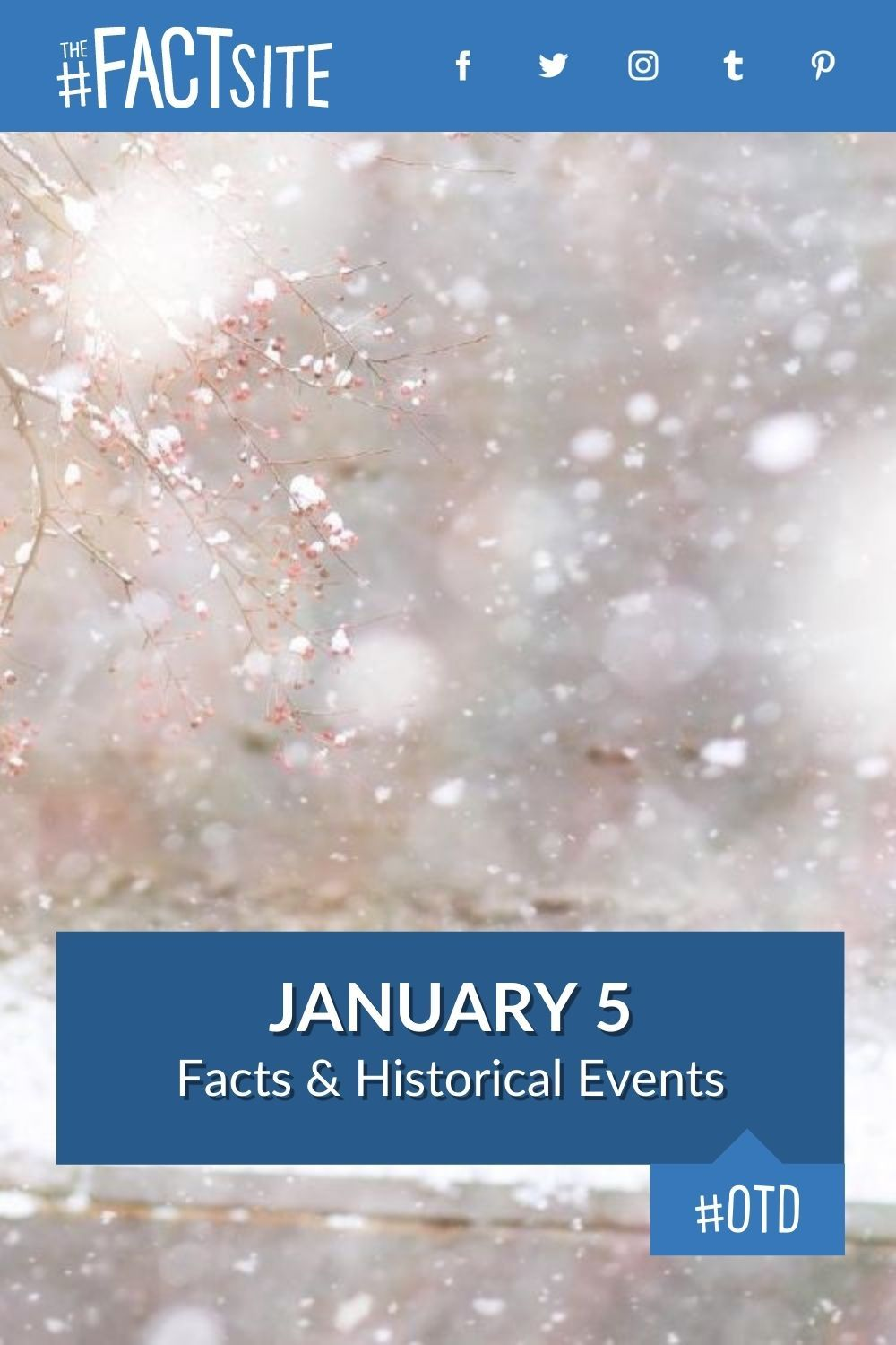 Facts & Historic Events That Happened on January 5