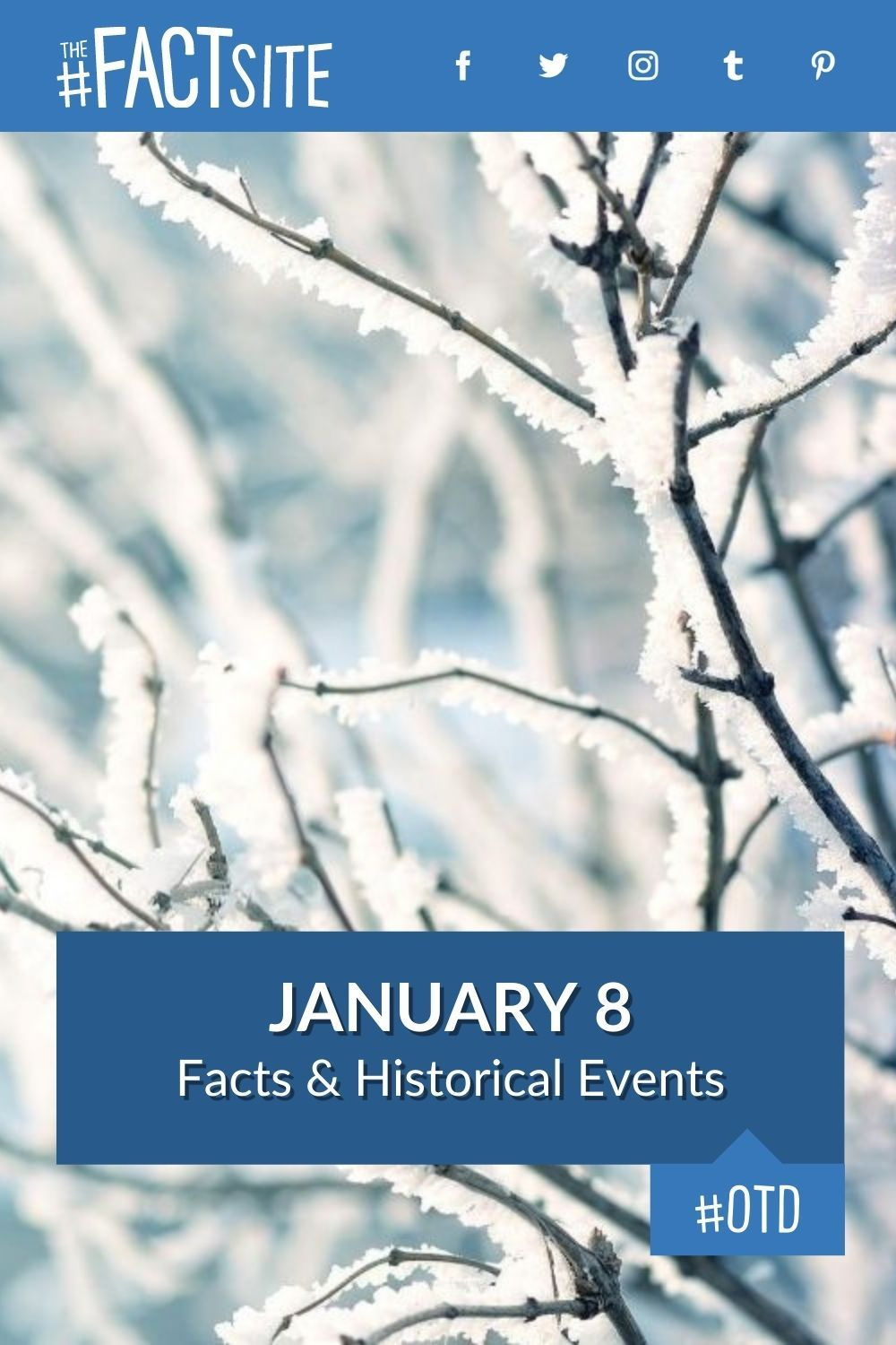 Facts & Historic Events That Happened on January 8
