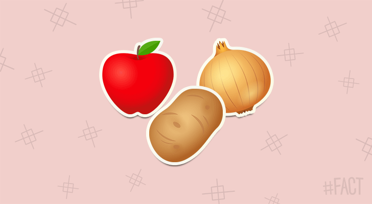 An apple, potato, and onion all taste the same if you eat them with your nose plugged.