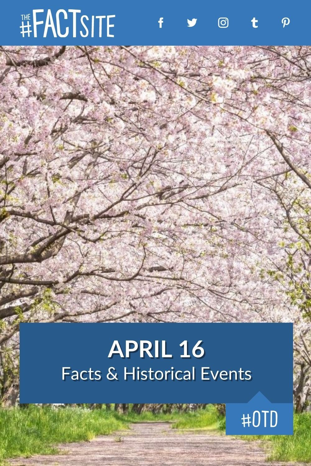 Facts & Historic Events That Happened on April 16