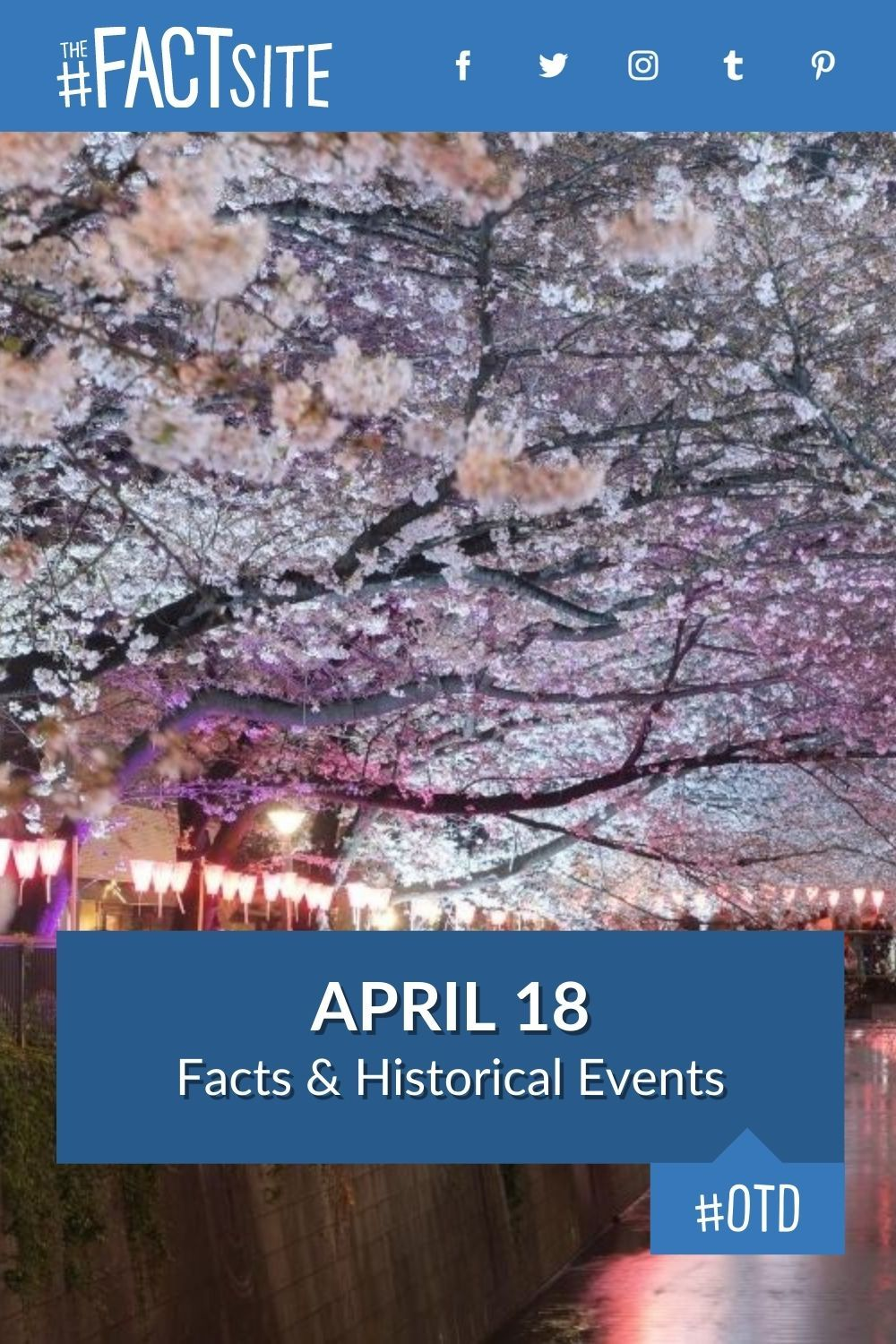 Facts & Historic Events That Happened on April 18