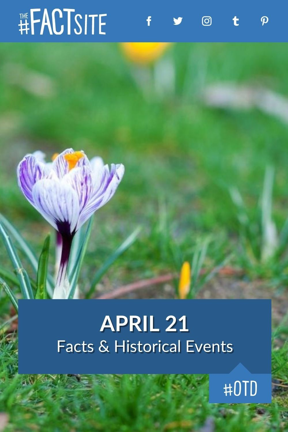 Facts & Historic Events That Happened on April 21