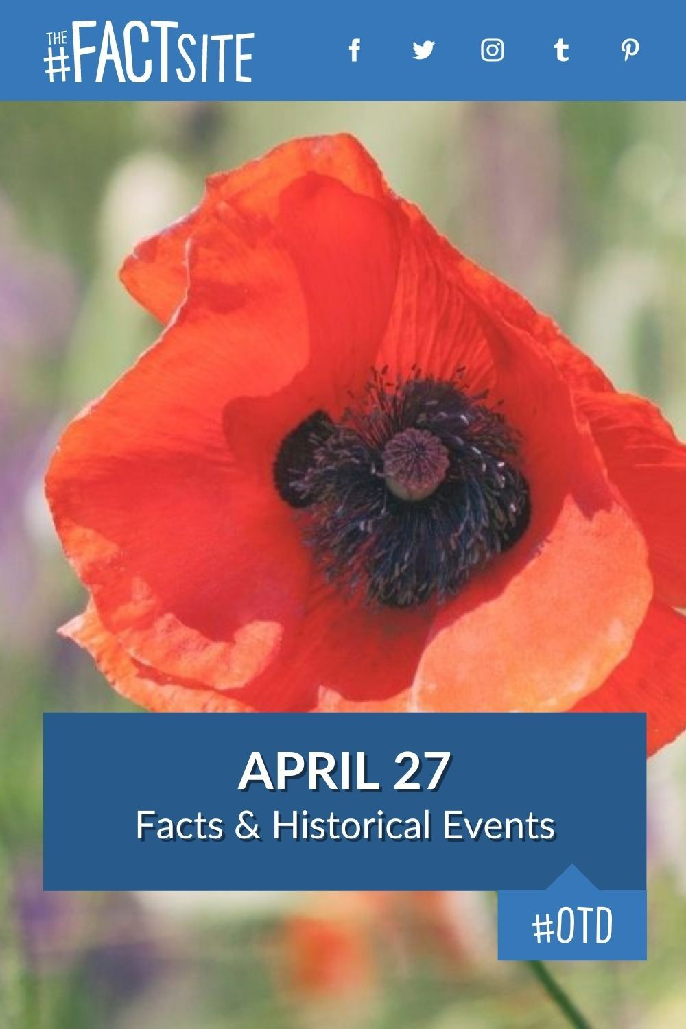 Facts & Historic Events That Happened on April 27