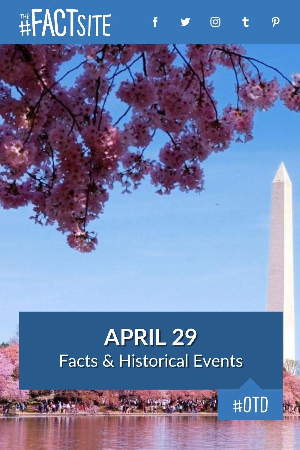 Facts & Historic Events That Happened on April 29
