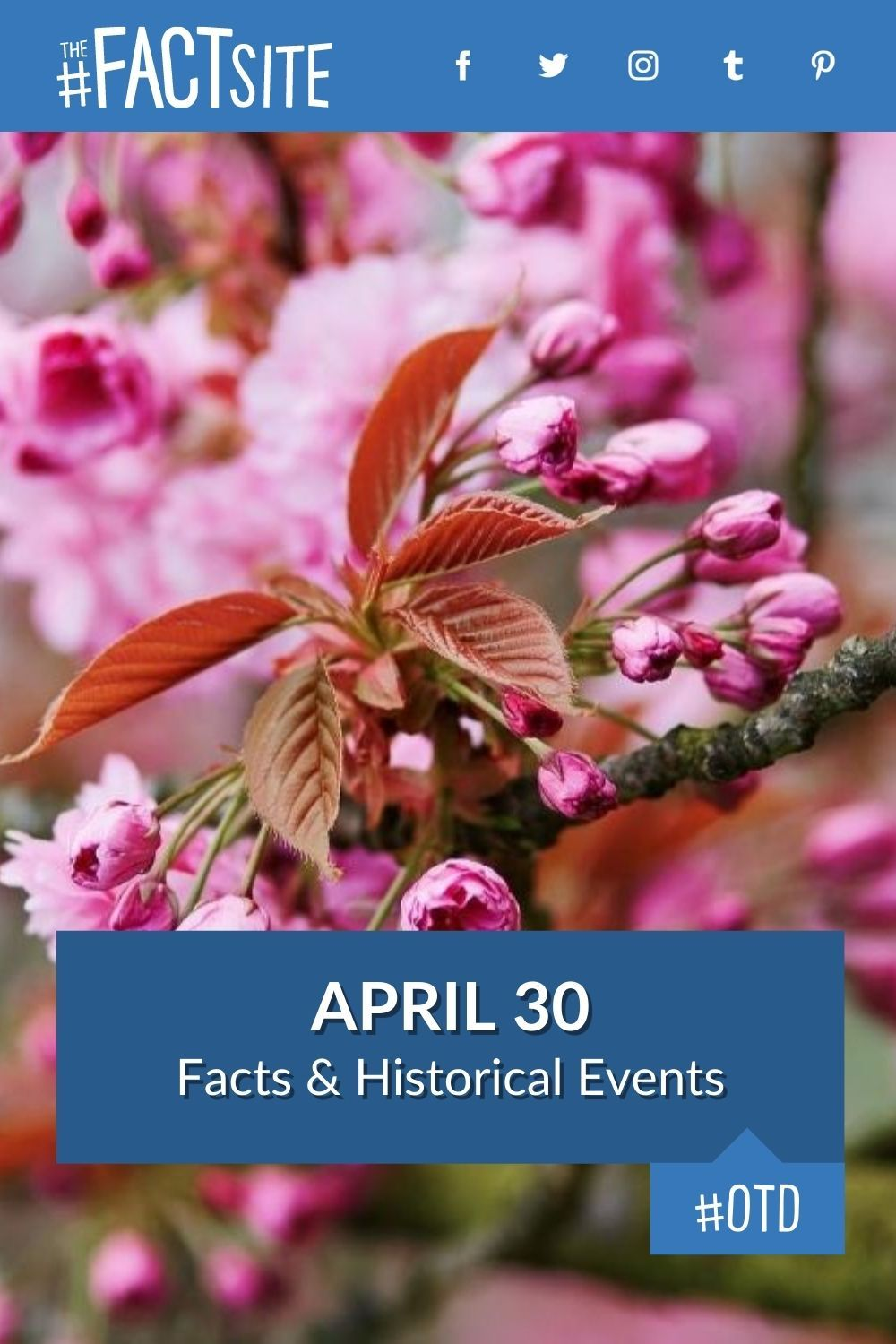 Facts & Historic Events That Happened on April 30