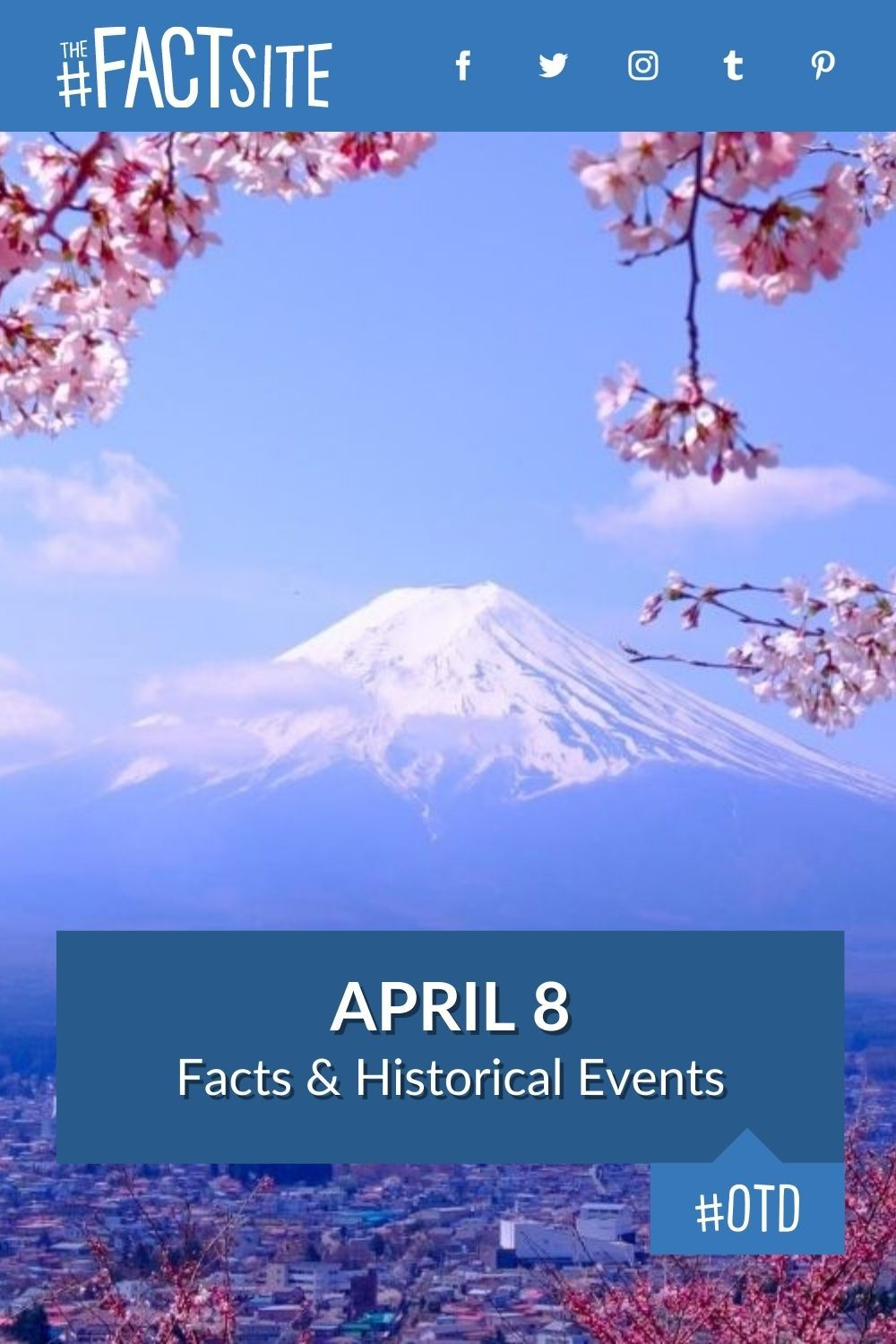 Facts & Historic Events That Happened on April 8