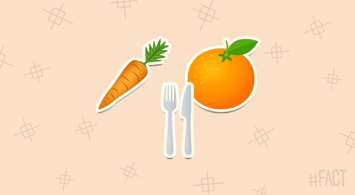 Eating carrots can turn your skin orange.