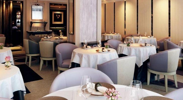 A look inside Restaurant Gordon Ramsay in Chelsea, London
