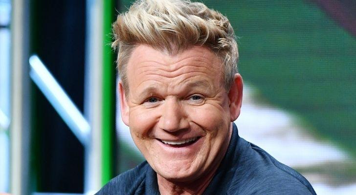 Gordan Ramsay smiling