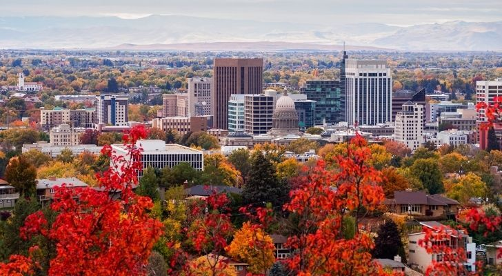 The city of Boise