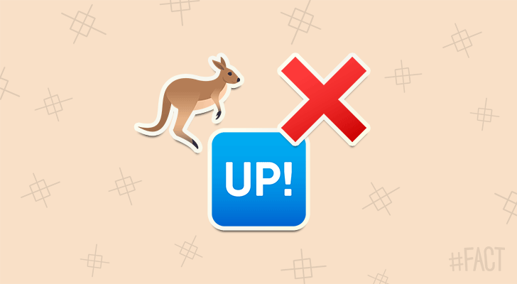 If you lift a kangaroo's tail off the ground it can't hop.