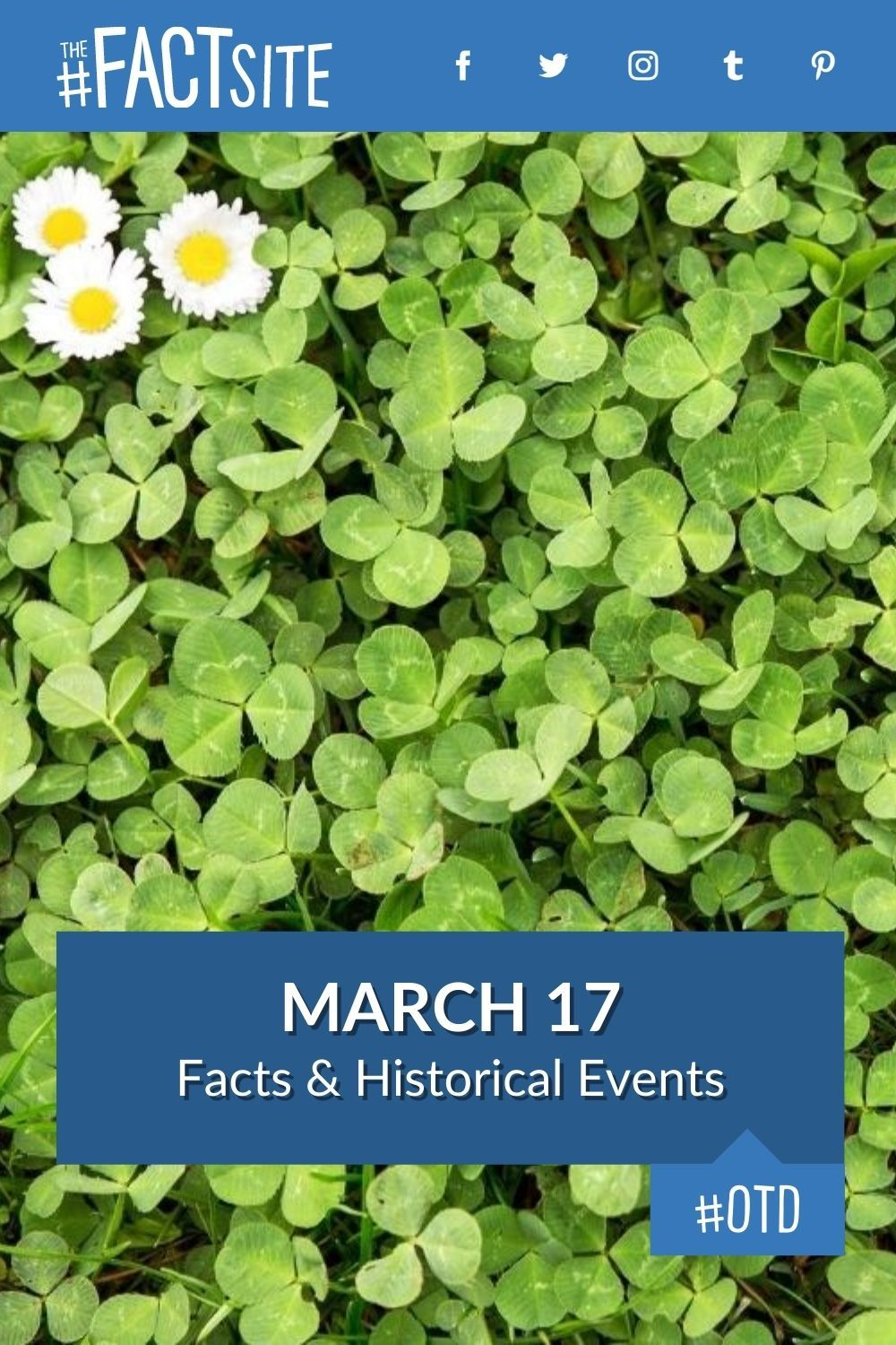 Facts & Historic Events That Happened on March 17